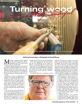 Sue Pritchard review in Muskoka Magazine